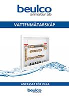 Vattenmätarskåp för villa